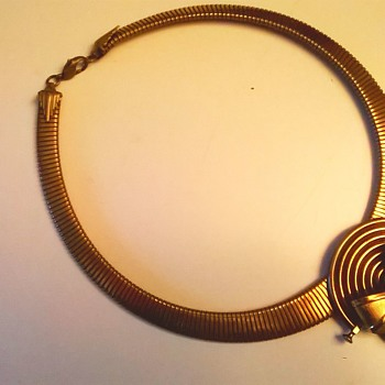 Ermani Bulatti Art Deco Revival Necklace