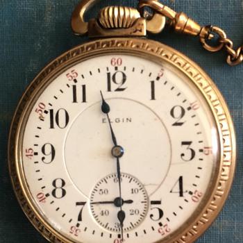 1911 Elgin Pocket Watch  - Pocket Watches