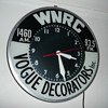 WNRC Radio/Vogue Decorators Light Up Clock