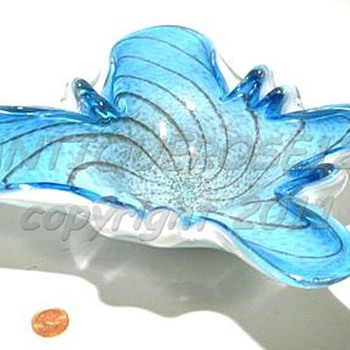 Murano Art Glass Butterfly - Fratelli Toso  ( 1 of 2 )