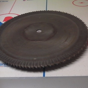 Vintage Saw Blades - Tools and Hardware