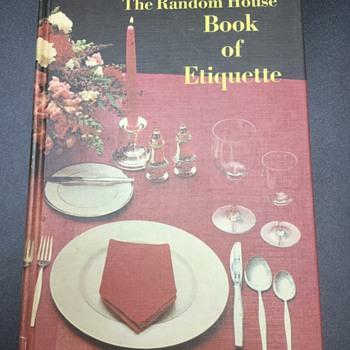 Vintage Etiquette — Random House, 1967 - Books