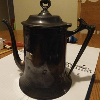 Sheffield Plate Tea pot - Silver