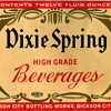 Dixie Spring Beverage Label