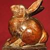 Vintage Terracotta Rabbit