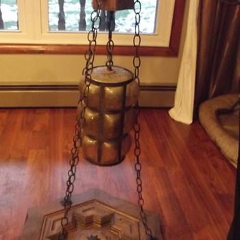 One unique lamp. - Lamps