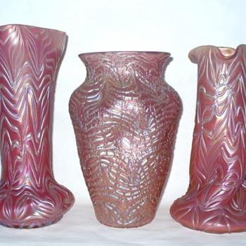 Loetz Pink Glass II - Art Glass