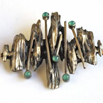 Scandinvian brooch - Fine Jewelry