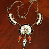 Zuni Sunface Necklace