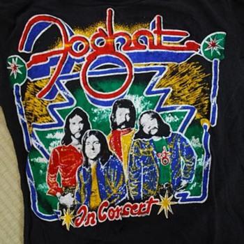 Foghat/Pat Travers T-shirt - Music Memorabilia