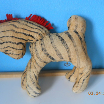 My mystery zebra - Dolls