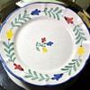 Solimene Ceramica Tulipani Plate - Vicenze Solimene at Arcosanti