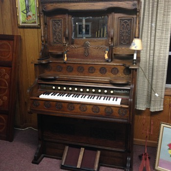 Organ 1900s  - Musical Instruments