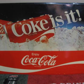 Coke sign - Coca-Cola