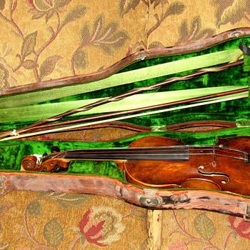 Schweitzer violin 1814 - Musical Instruments