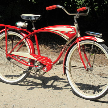 1953 Schwinn Streamliner- Restored Like New Again! - Sporting Goods