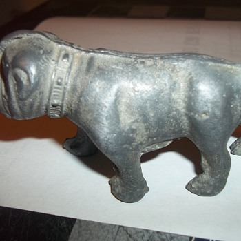 CAST METAL BULLDOG - Animals