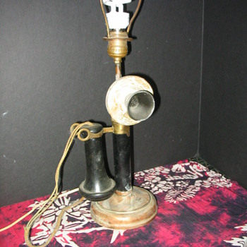 Western Electric Candlestick Phone lamp - Telephones