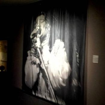 Janis Joplin Silkscreen  -  7.5' wide x 9' tall - Music Memorabilia