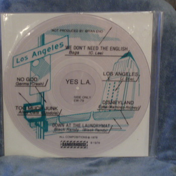 1979 YES L.A. Dangerhouse - Records