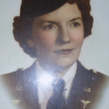 World War Two Nurse, photos!  My Mother! In 2 sections!  1st one: - Military and Wartime