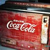 Original 1960s Coca Cola Honor system Ice Box