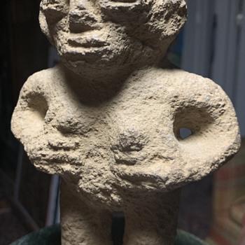 Carved Stone Figure - Fine Art