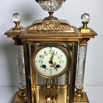 Help with identifying information on this stunning Samuel Marti Mecury Pendulum Regulator Clock - Clocks