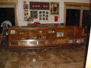 Sherer Seed Cabinet/Counter   Collectors Weekly