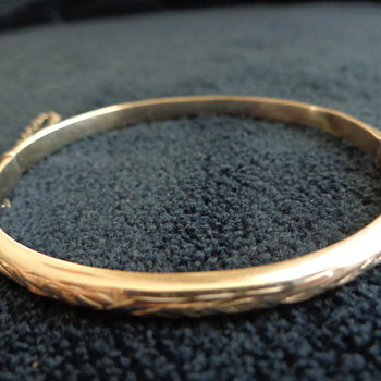 Child's Bangle - Sterling? - Fine Jewelry