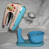 Tin Junior Mixer Toy with Stand and Bowl