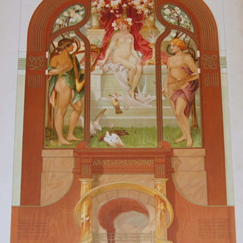 Imago Picta – Art Nouveau at some of it's finest – An Obscure German Portfolio from 1903 - Art Nouveau