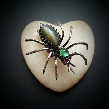 My greatest fear and collecting fever... SPIDER! - Fine Jewelry