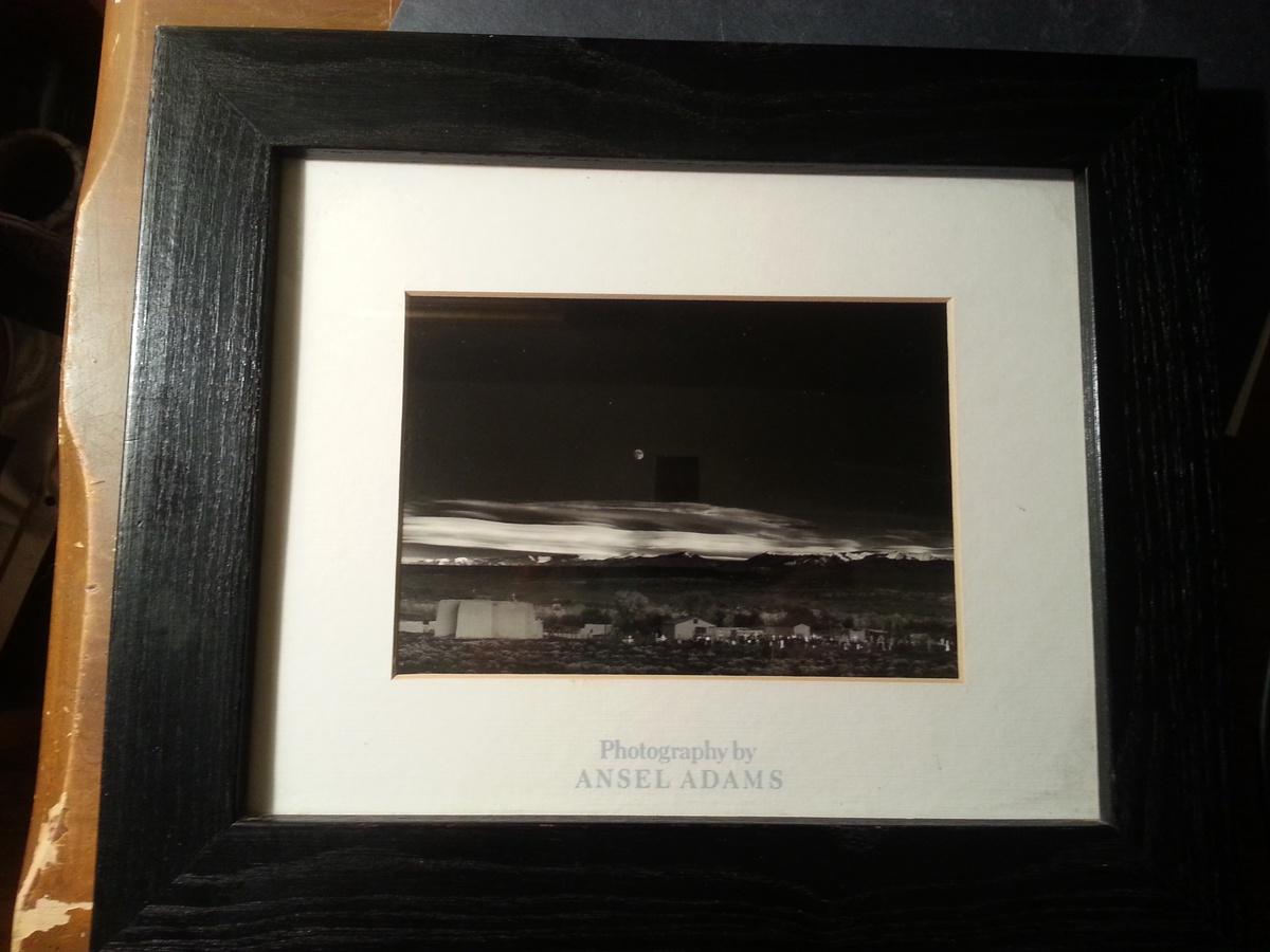 Ansel Adams Moonrise Hernandez New Mexico Reproduction Photo