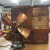 Westinghouse Brass Fan and Original Shipping Crate