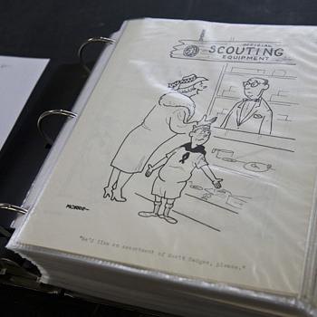 270 Cartoonist Drawings, 17 Artists - Paper