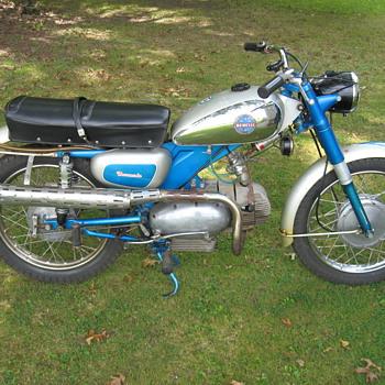 1967 Benelli Barracuda 250 Scrambler un-restored classic - Motorcycles
