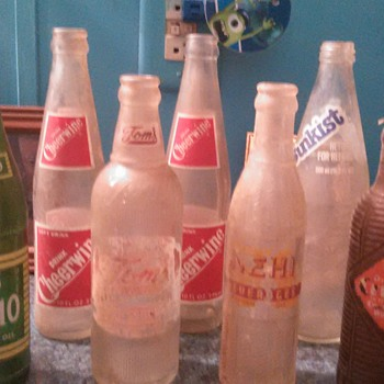 soda bottles - Bottles