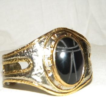 BIG Mexican Scarab Cuff Bracelet - IXEL