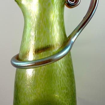 Loetz Diana Ciselé Ausführung 79, PN II-6462, ca. 1909 - Art Glass