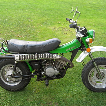 1973 Suzuki RV125 Tracker - Motorcycles