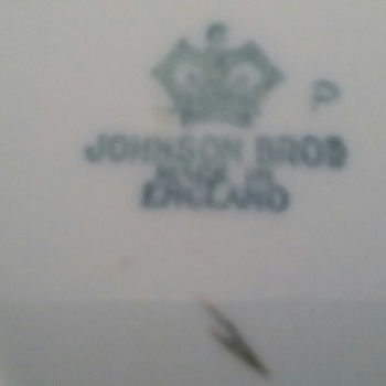Johnson Brothers England - China and Dinnerware