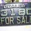 1933 Arkansas Dealer tags