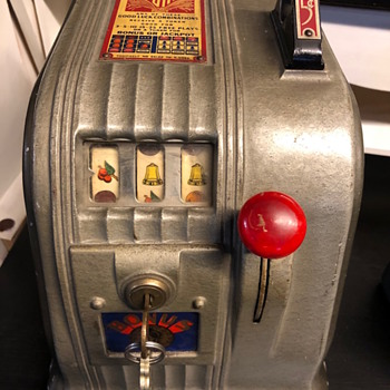 "Daval Trade Stimulator ""Gusher"" 1940s - Coin Operated"