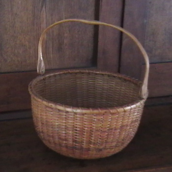 Early 1900's Nantucket Lightship Basket