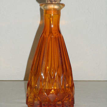 Amber Mystery Bottle - Glassware