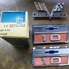 Car emblems...Chevrolet of coarse:)