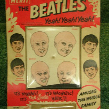 Beatles Magnetic Hair game - Music Memorabilia