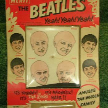 Beatles Magnetic Hair game