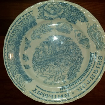 """Help with Ironstone Stafford Pottery """"sample/test plate"""" - China and Dinnerware"""